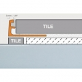 Schluter Jolly Trim A100-BW 3/8