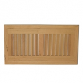 American Cherry Wood Vent Flush Mount With Damper Hi-Output