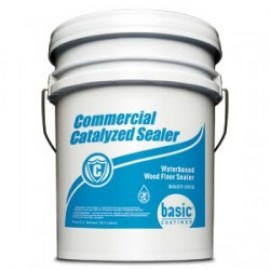 Commercial Catalyzed Wood Floor Sealer 5 gal