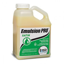 Basic Emulsion PRO Satin Wood Floor Finish & Sealer 1 gal