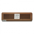 Brazilian Cherry Wood Vents Baseboard 18