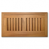 Brazilian Cherry Wood Vent Flush Mount With Damper