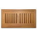 Brazilian Cherry Wood Vent Flush Mount With Damper 4