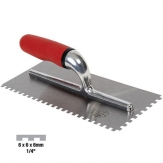 DTA Bright Steel Trowel 1/4in SQ BST6