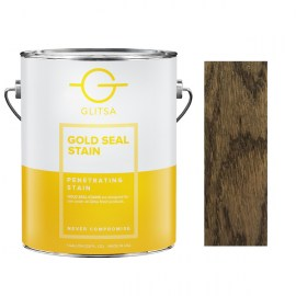 Glitsa Gold Seal Stain Coffe Brown 1 qt