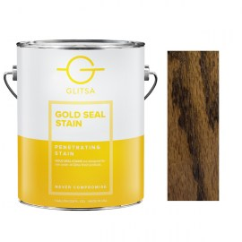 Glitsa Gold Seal Stain Medium Brown 1 gal