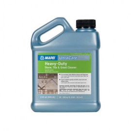 Mapei UltraCare Heavy-Duty Stone, Tile & Grout Cleaner 1 qt