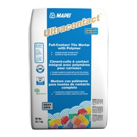 Mapei Ultracontact Gray Mortar 50lbs