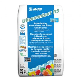 Mapei Ultracontact Rapid Set White Mortar 50lbs