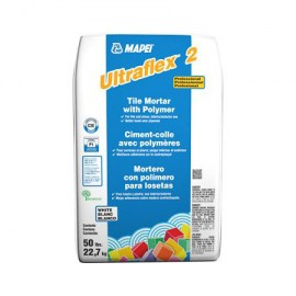 Mapei Ultraflex 2 White Tile Mortar 50lbs