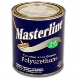 Masterline Polyurethane Wood Floor Finish Semi-Gloss 1 qt