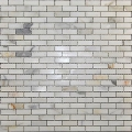 Mini Brick Calacatta Polished Marble Mosaic