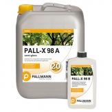 Pallmann Pall-X 98 Commercial Semi-Gloss Floor Finish 1 gallon