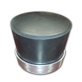 Powernail Black Mallet Cap with Steel Ring