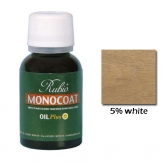 Rubio Monocoat Natural Oil Plus Finish 5% White