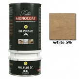 Rubio Monocoat Oil Plus 2C Finish 5% White