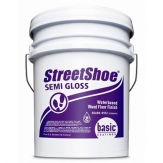 Basic StreetShoe Semi Gloss Waterbased Wood Floor Finish 5 gal