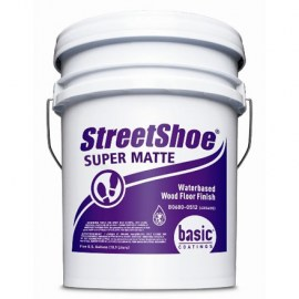 Basic StreetShoe Super Matte Waterbased Wood Floor Finish 5 gal