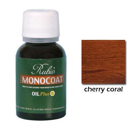 Rubio Monocoat Natural Oil Plus Finish Cherry Coral