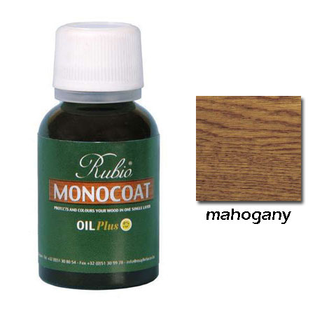 Rubio Monocoat Natural Oil Plus Finish Mahogany