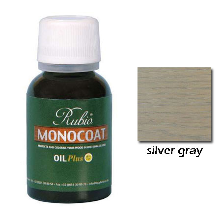 Rubio Monocoat Natural Oil Plus Finish Silver Gray