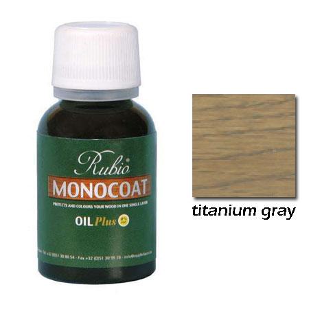 Rubio Monocoat Natural Oil Plus Finish Anium Gray