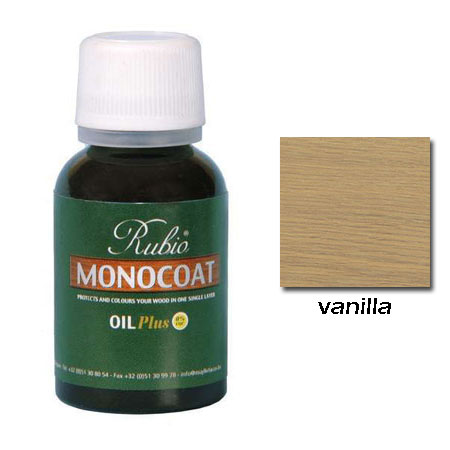 Rubio Monocoat Natural Oil Plus Finish Vanilla