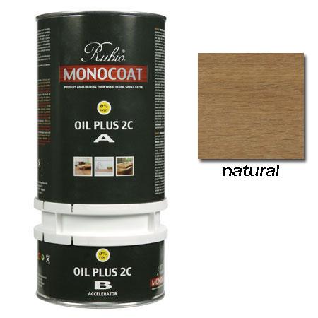Rubio Monocoat Oil Plus 2C Finish Natural 1.3 Liters