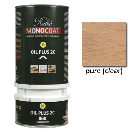 Rubio Monocoat Oil Plus 2C Finish Pure 1.3 Liters