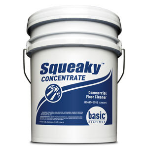 Basic Coatings Squeaky Floor Cleaner Commercial Concentrate 5 gal