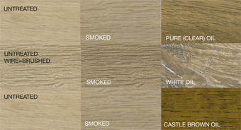 Rubio Monocoat Smoke color chart
